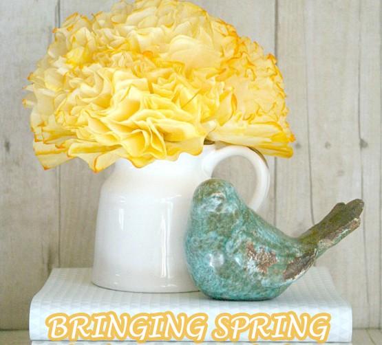 Tip Tuesday Spring decor