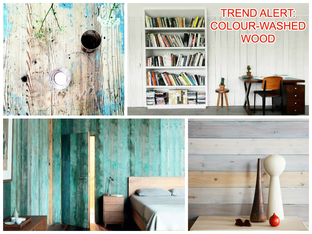 Trend Alert colour washed wood