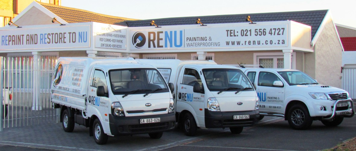 New vehicle and building branding